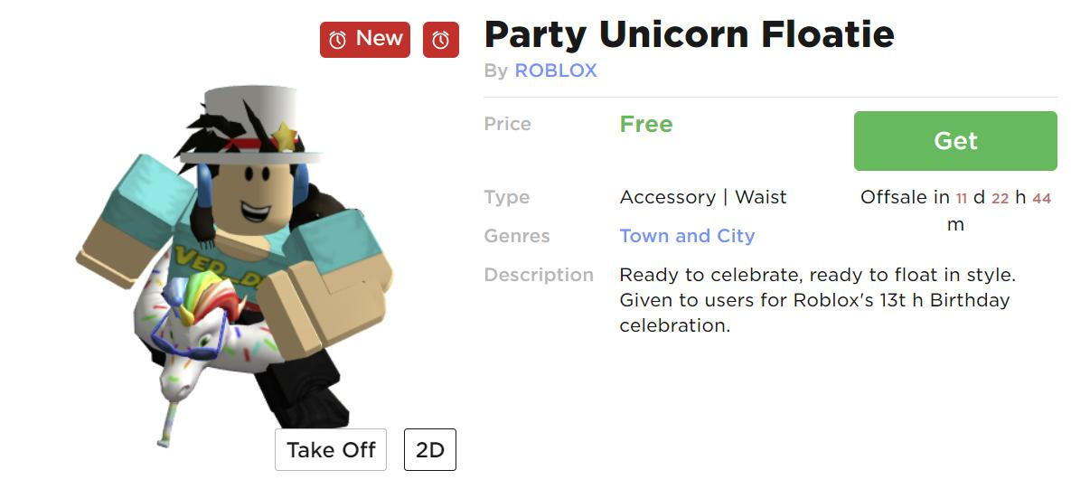 roblox free items 2019 december