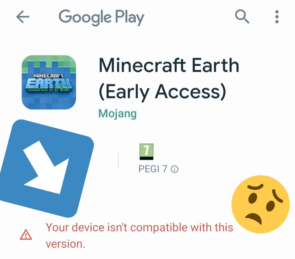 Was so chuffed to be selected for a spot on #MinecraftEarth beta only to discover... #ihatemyphone