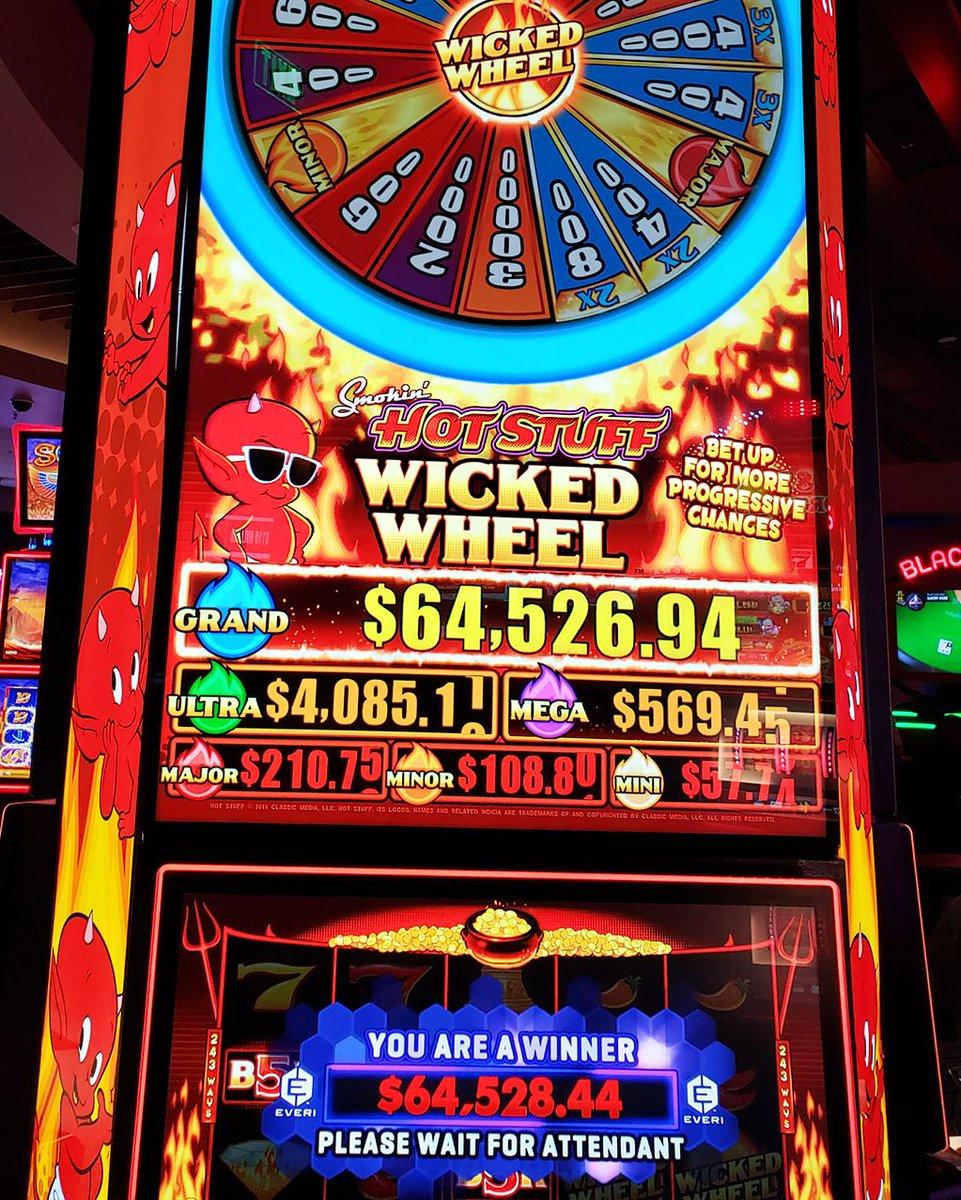This Smokin' Hot Stuff jackpot was 🔥🔥🔥! Our lucky player, Donna, took home $64,529! #TalkingStickResort