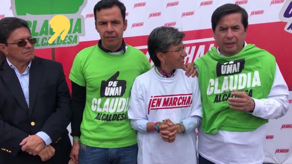 750 mil personas firmamos la revocatoria de Peñalosa, los politiqueros con toga del @CNE_COLOMBIA secuestraron la democracia y no nos dejaron ir a las urnas; uno de ellos fue @HectorHeliRojas hoy uno de los #EnMarcha.