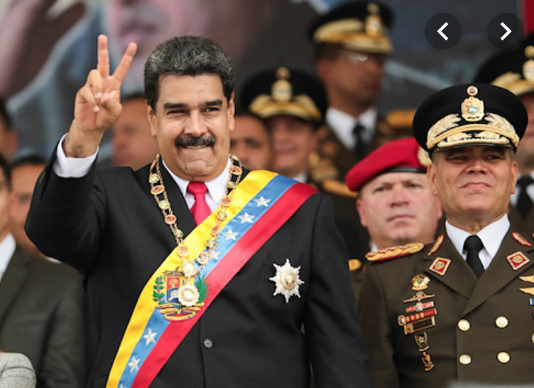 "Venezuela dictator Nicolás Maduro destroyed his country, starved his people, and crushed pro-democracy dissidents. So the U.N. is planning next month to elect him to its ""Human Rights Council."" <br>http://pic.twitter.com/7G70uAQVp9"