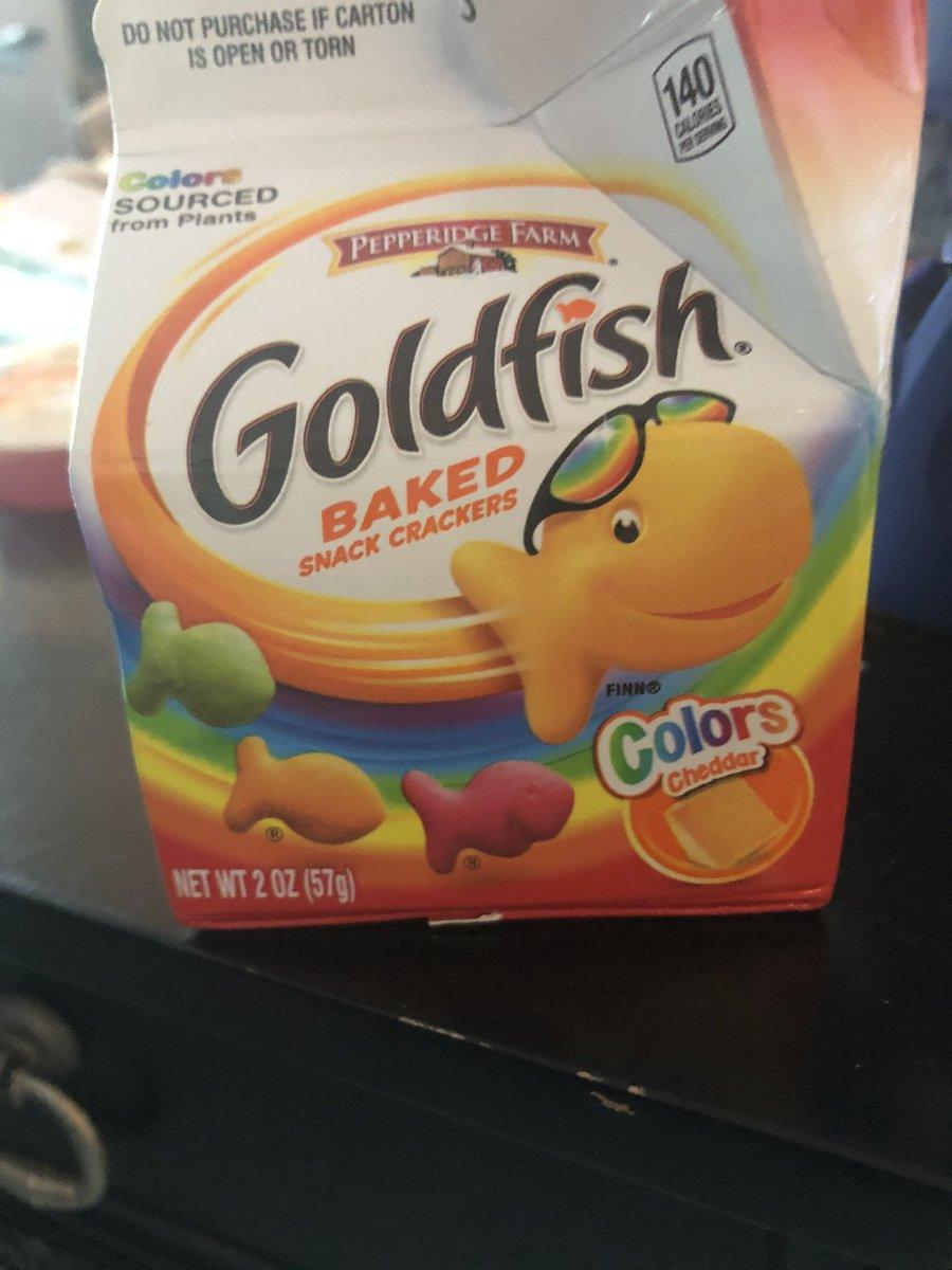 goldfish hashtag on Twitter