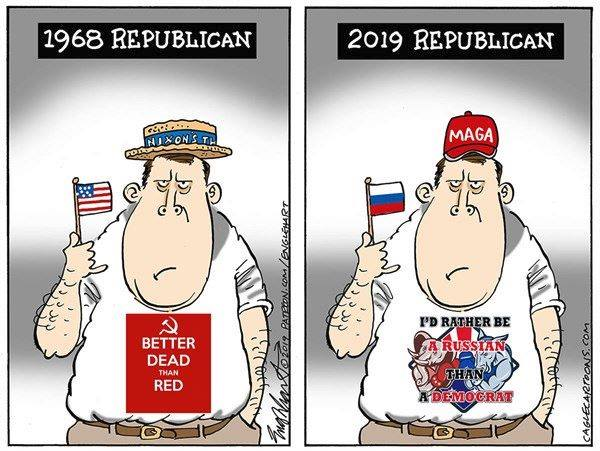 The @GOP then and now  #MoscowMitch #TrumpRussia <br>http://pic.twitter.com/LTk84zbVPi