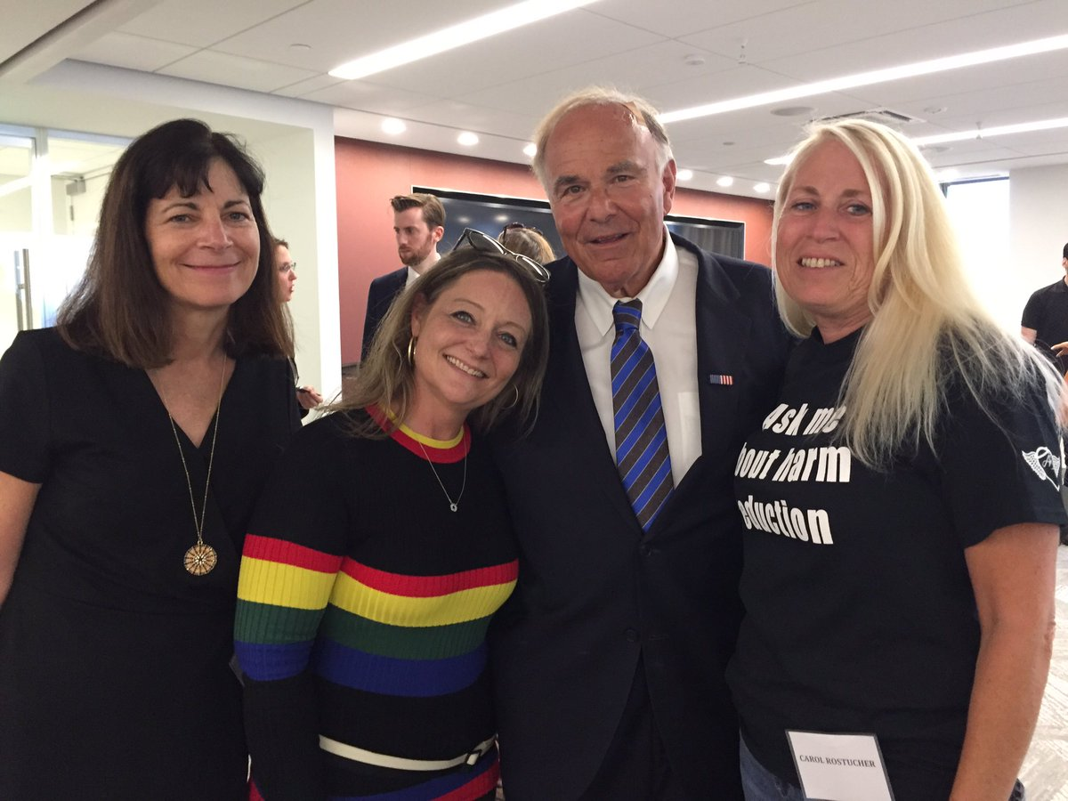 Today was the hearing for our desperately needed supervised consumption facility @SafehousePhilly to address the 3 +deaths/day. Thx to @PhillyMayor + @GovEdRendell for their support + these two amazing women @nicolemodonnell and Carol from Angelsinmotion. #phillystrongpic.twitter.com/sPBdQIai4z