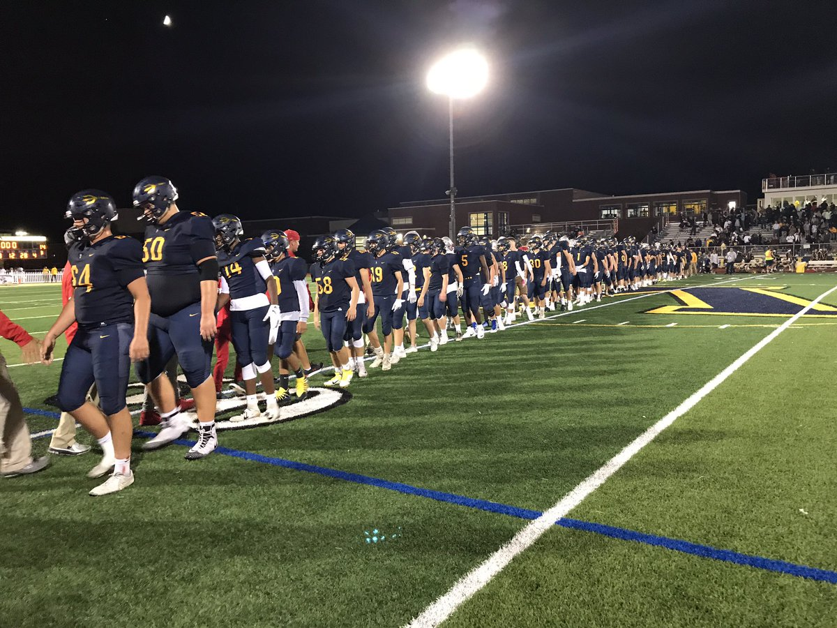 Victor defeats Canandaigua to open up the 2019 football season