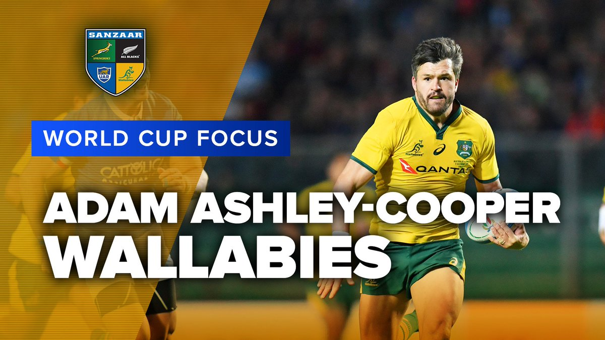 WORLD CUP FOCUS | Adam Ashley-Cooper, Wallabies Adam Ashley-Cooper is the oldest player ever selected by the Wallabies for a World Cup. With three tries in Super Rugby 2019 for the Waratahs we look forward to seeing that vintage dive in Japan! #RWC2019
