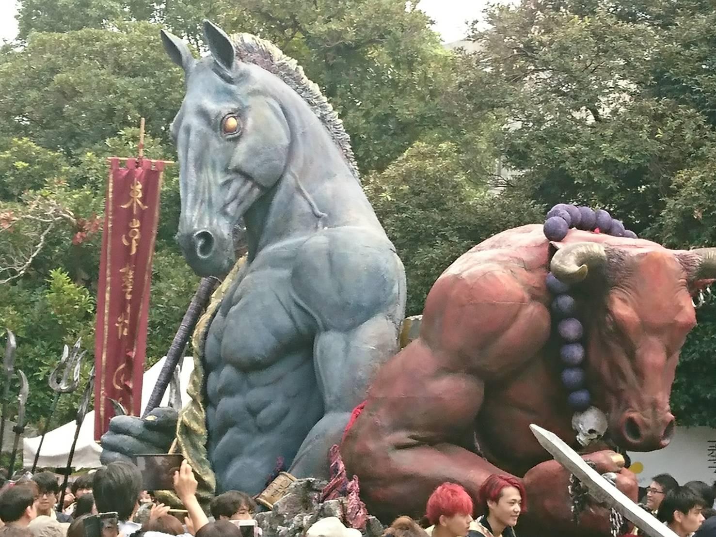 今年も東京藝術大学の学祭がヤバイ!!筋骨隆々すぎる…!