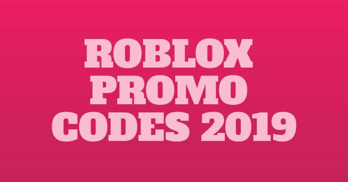 Roblox Promo Codes 2019 (@PromoCodeRoblox) | Twitter