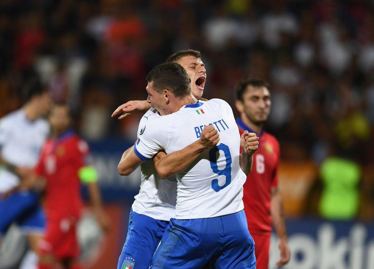 Video: Armenia vs Italy Highlights