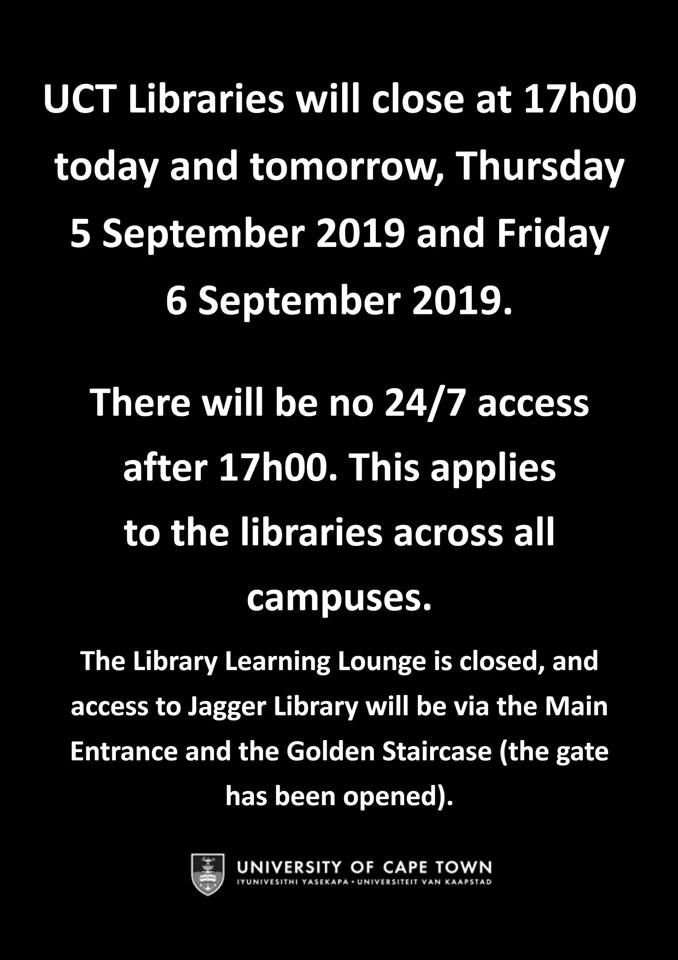 Media Tweets by UCT Libraries (@UCTLibrary) | Twitter