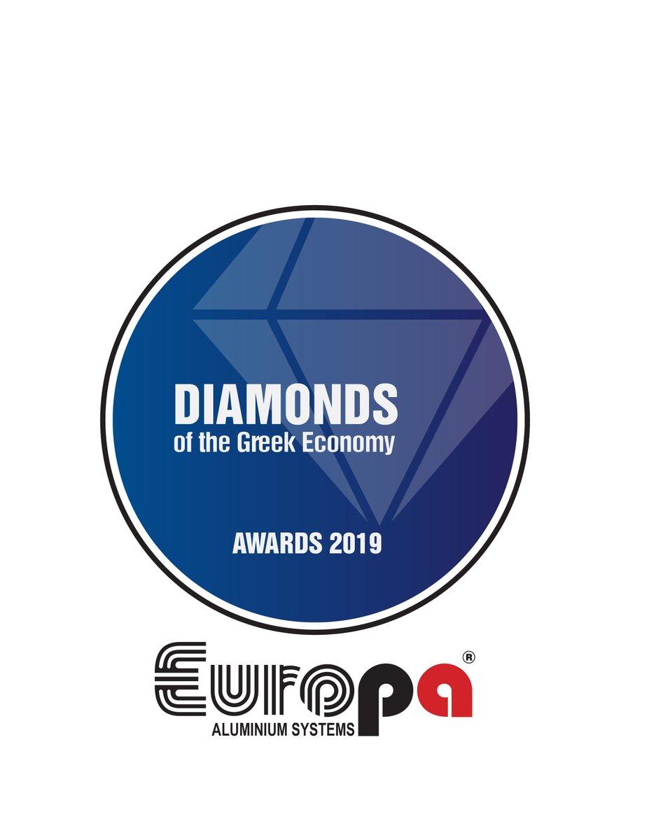 Ισχυρό μήνυμα💪έστειλε η@EuropaProfilως βραβευθείσα εταιρεία🏆στον θεσμό επιχειρηματικής αριστείας Diamonds of the Greek Economy 2019💎παρουσία 600 εκπροσώπων επιχειρήσεων @grandebretagne👏#EuropaWins στις υγιέστερα αναπτυσσόμενες εταιρείες της χώρας!🇬🇷#MiaGiaPanta🥇#EuropaProfil https://t.co/jDcuXrljkR
