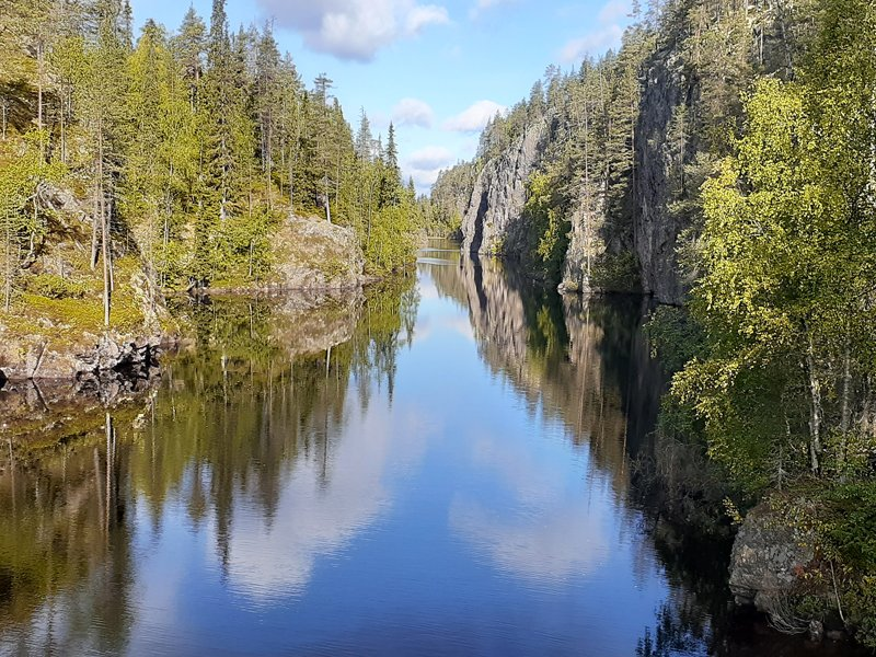 """Our guide was outstanding. We learned heaps about Finland, Bush craft and canoeing. The accommodations had rustic charm. This has to be one of the best trips we have done."" Russell recently returned from Hiking in the Finnish-Russian Borderland & shared this beautiful picture!"