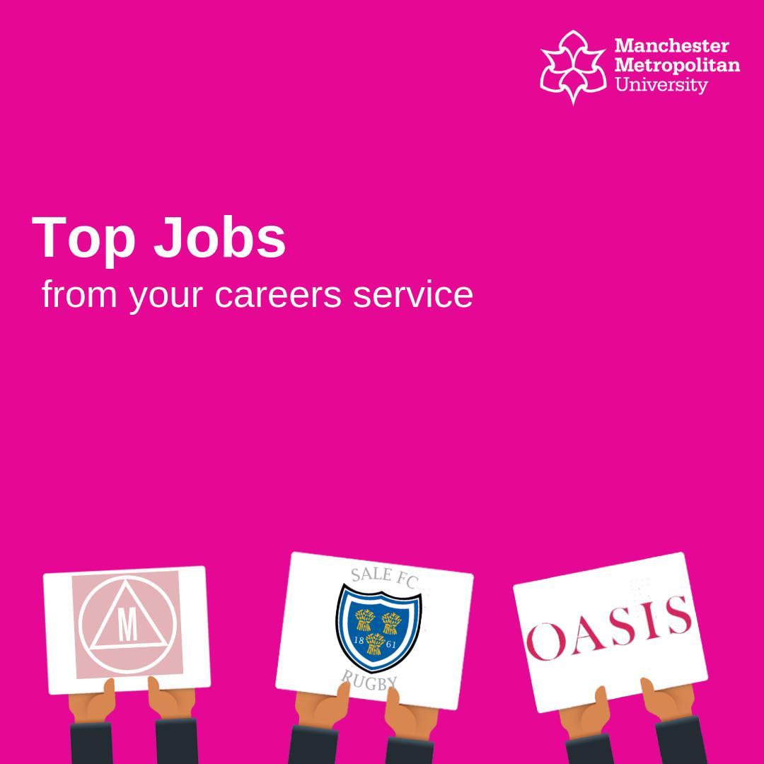 Manchester Met Uni Careers Service (@ManMetCareers)   Twitter