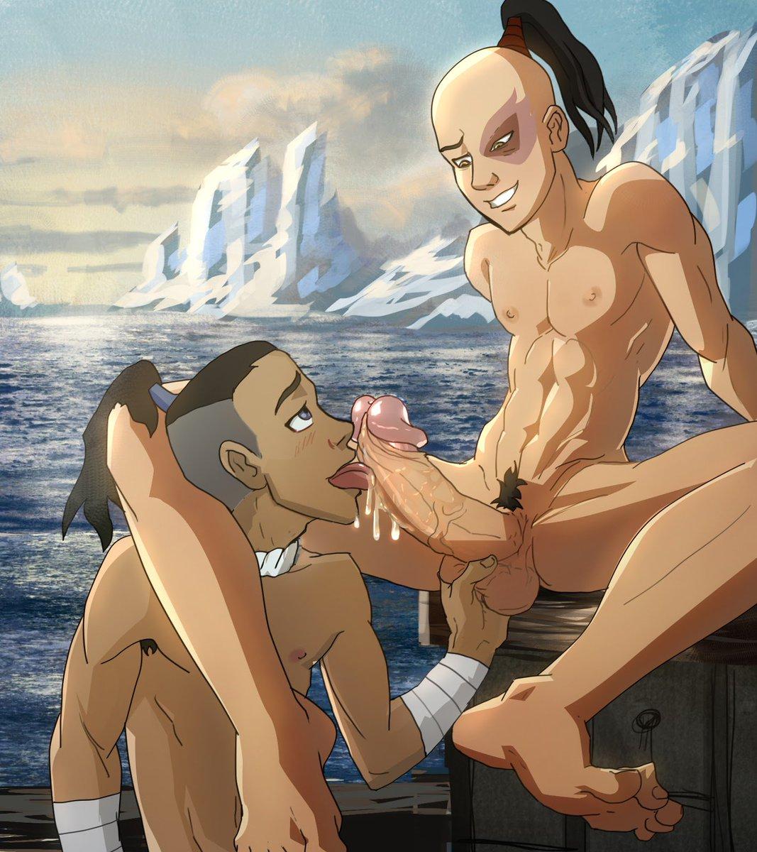 Gaysex cartoon aang