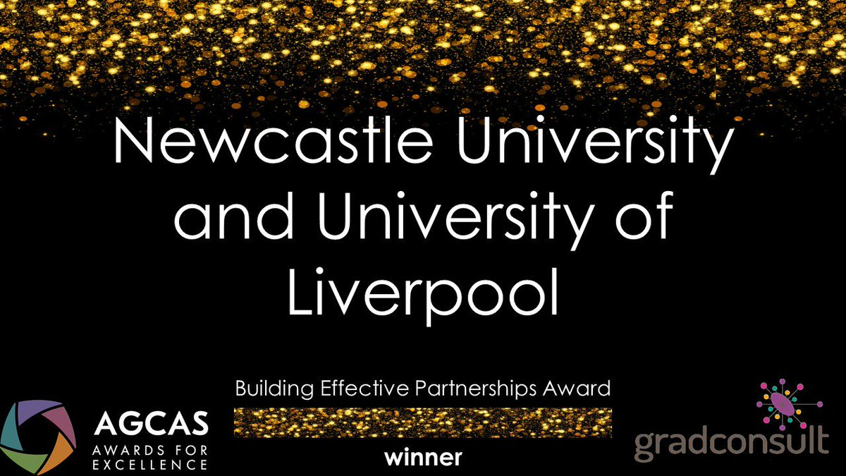 So pleased to have won the @AGCAS 2019 Building Effective Partnerships Award with @UniofNewcastle for our Amsterdam #BusinessChallenge project at the #AGCAS awards last night: bit.ly/30Z3Pdh