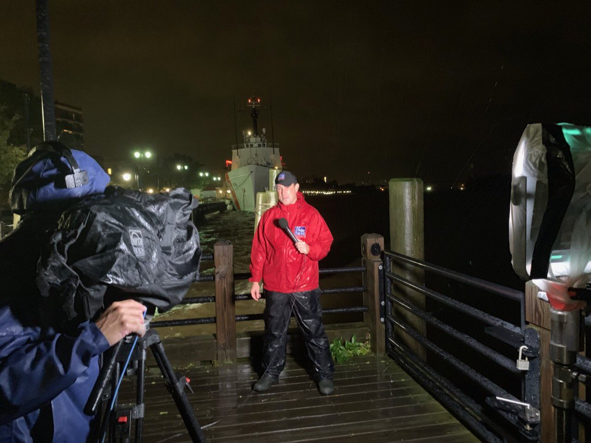 The latest on #Dorian and its impact on #WilmingtonNC. @foxandfriends and @FoxFriendsFirst all morning long.