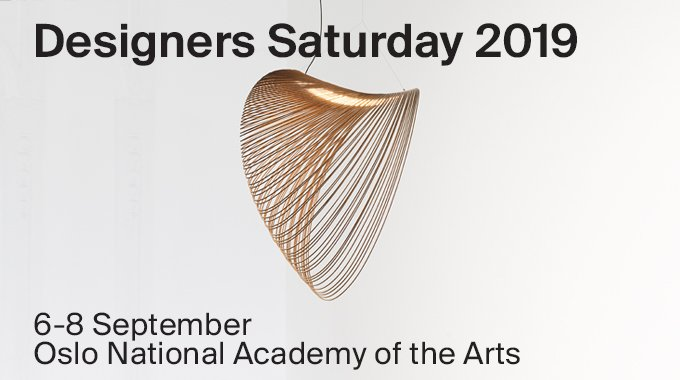 Starting today until Sunday, come and visit us at the National Oslo Academy of the Arts during Designers Saturday 2019. Discover one of our novelties, Illan  https://t.co/uH5q1lH05v https://t.co/306ejHSzP3