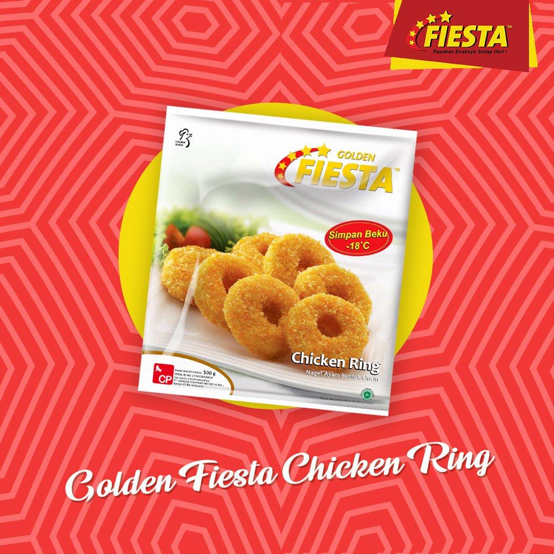 Golden Fiesta Chicken Ring Yang Terbuat Dari Daging Ayam
