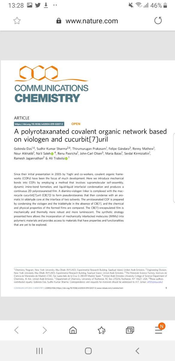 Communications Chemistry CommsChem
