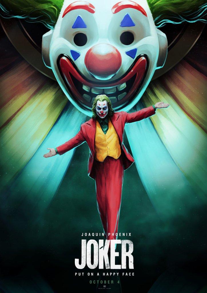 """PosterSpy.com on Twitter: """"Joker (2019) alternative movie poster uploaded  by artist @Si_Salny https://t.co/Wv2BTZVuTs #Joker #JokerMovie #PosterSpy…  https://t.co/fdNMECfXR8"""""""