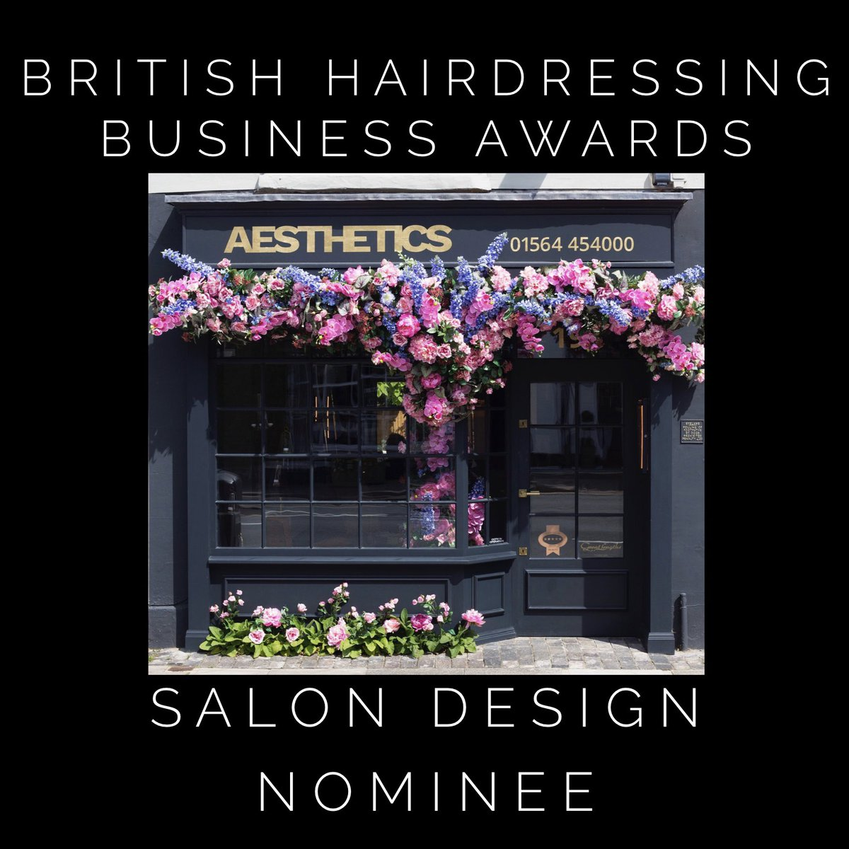 Aesthetics Hair Salons On Twitter Only A Few Days Before The British Hairdressing Business Awards Our Henley In Arden Salon Is Up For The Salon Design Award So Fingers Crossed For A Win