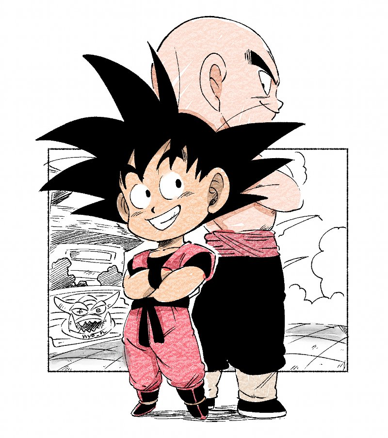 Images découvertes [Fanarts Dragon Ball] - Page 6 EDxzN3aUUAAIFWi?format=jpg&name=medium