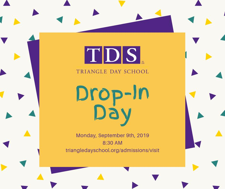 Interested in TDS for your child? Come to a Drop-In Day or Open House and see why the kids love it here!
