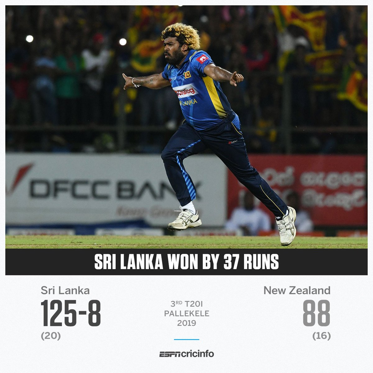 Four in a row for Malinga.  Four golden ducks for New Zealand.  The visitors claim the T20I series, but Slinga has given the hosts plenty of cheer tonight   http:// es.pn/2lAscy4      #SLvNZ <br>http://pic.twitter.com/Gz8qYMhR2G