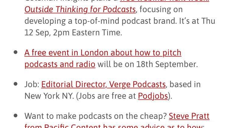 Podnews podcasting news (@Podnews) | Twitter