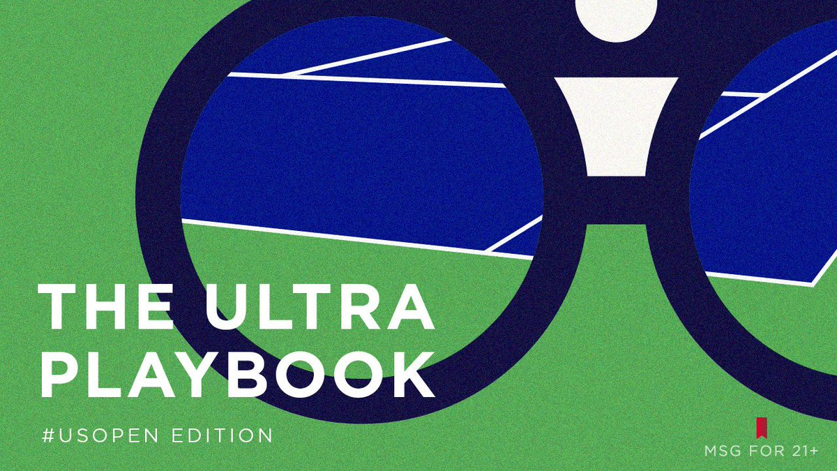 Game, set, and down the hatch. Tennis etiquette is no joke — here's the ULTRA playbook for proper courtside performance. Did we miss anything? #USOpen