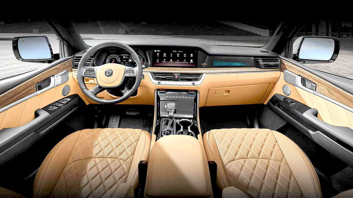 Neil Shah On Twitter 2020 Kia Mohave Interior Revealed In