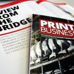 Image for the Tweet beginning: Check out @PrintBusiness's latest cover