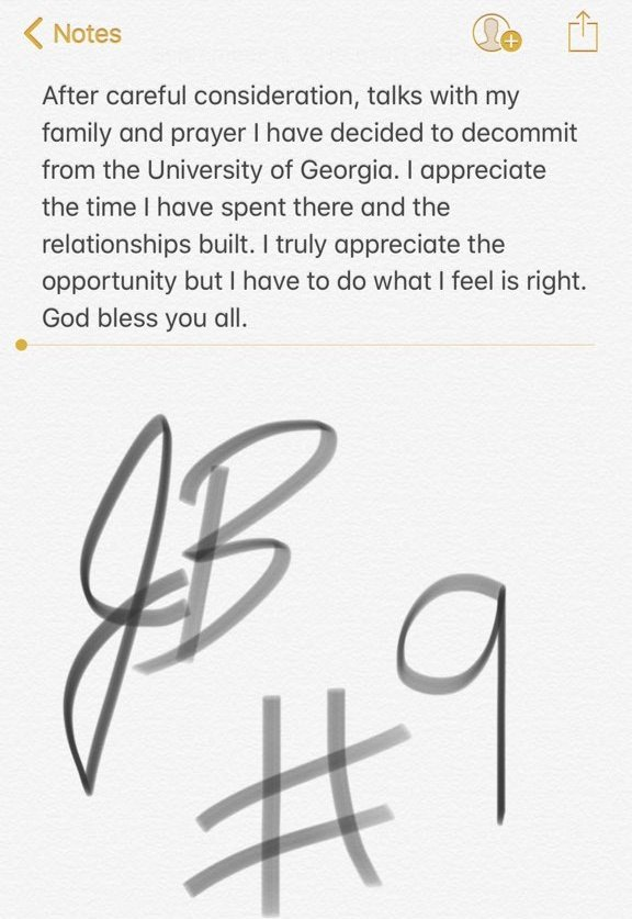 UGA commitment watch: Jamil Burroughs makes announcement today