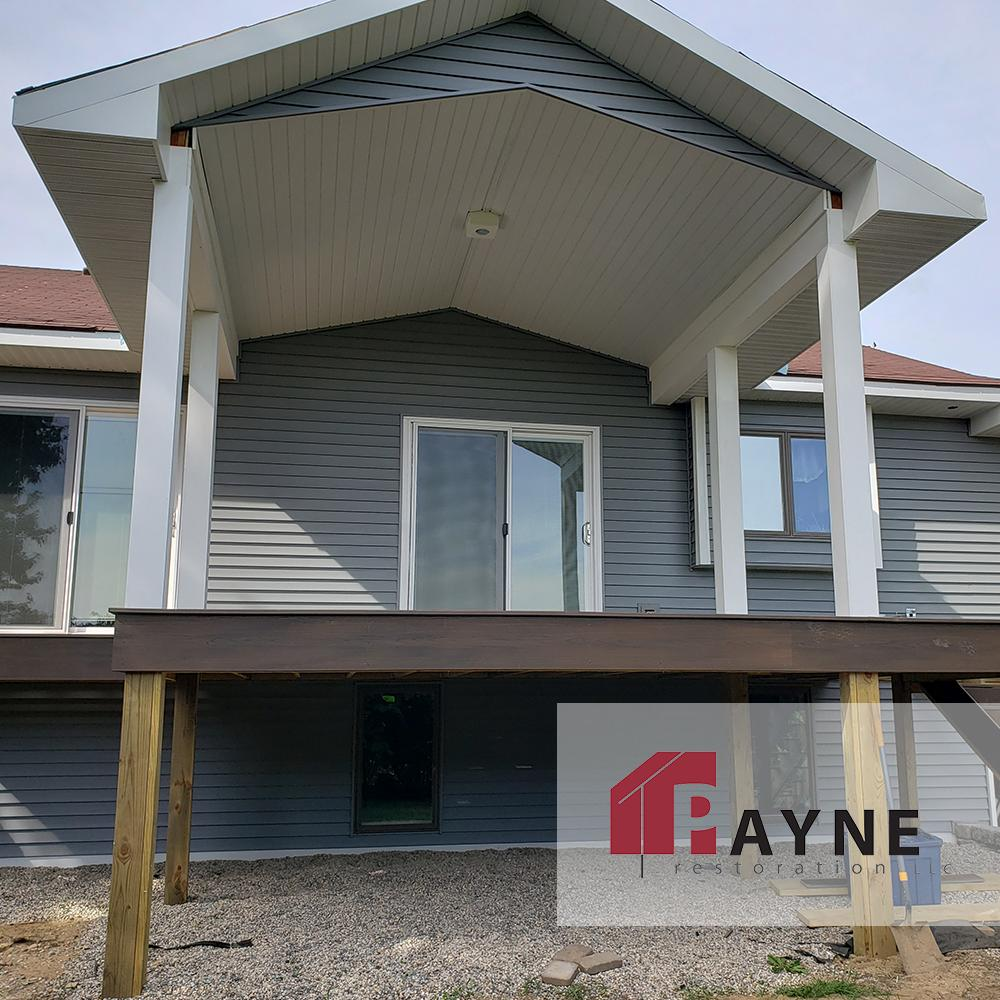 Shield yourself from the rainy weather and still enjoy your outdoor deck! Check out our progress on this exterior addition to a property. Let's connect today and get your home featured!  #Roofing #DeckShelter #HomeAddition #PropertyRemodel #HomeDesign #Caledonia #ByronCenter<br>http://pic.twitter.com/v24YxheiKD