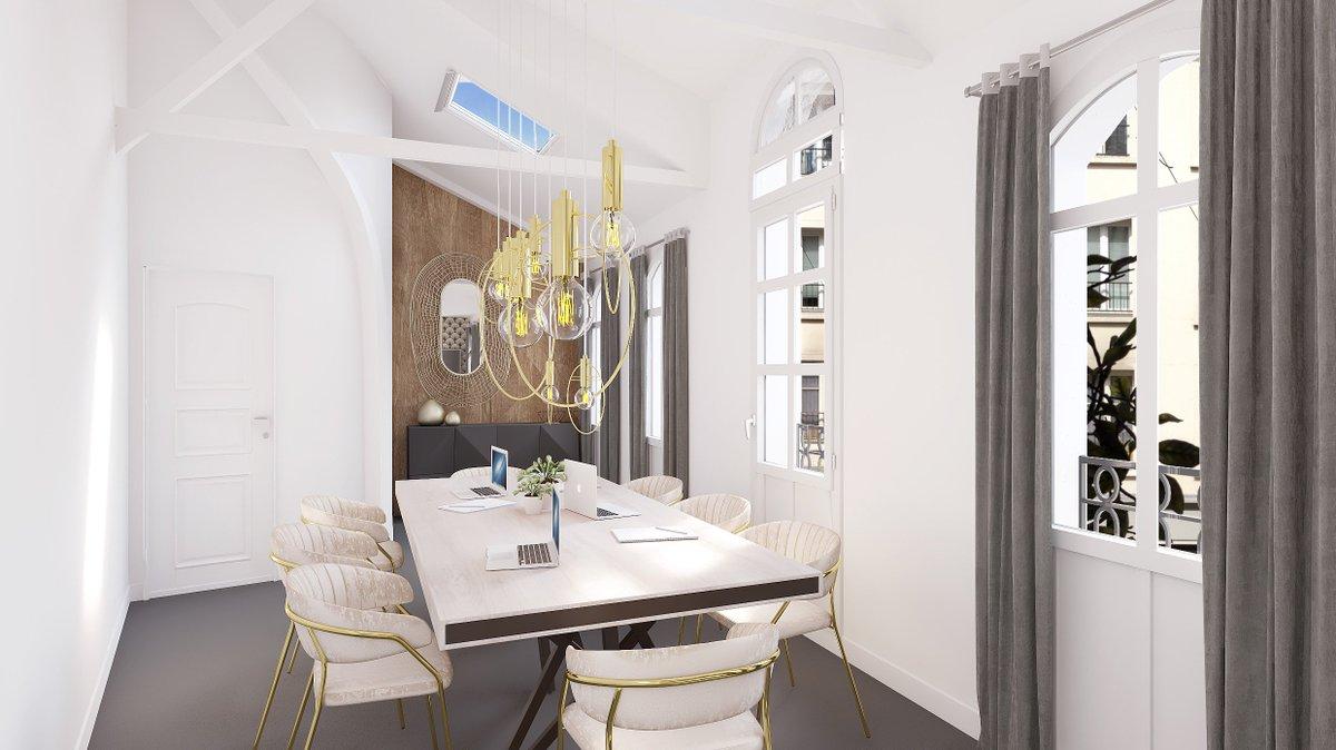 Nous avons trouvé LA solution pour pallier à la déprime de la rentrée : de magnifiques bureaux 🤩💼 Retrouvez en images le projet de @Gecina ! #decoration https://t.co/ckDPXGI0x8