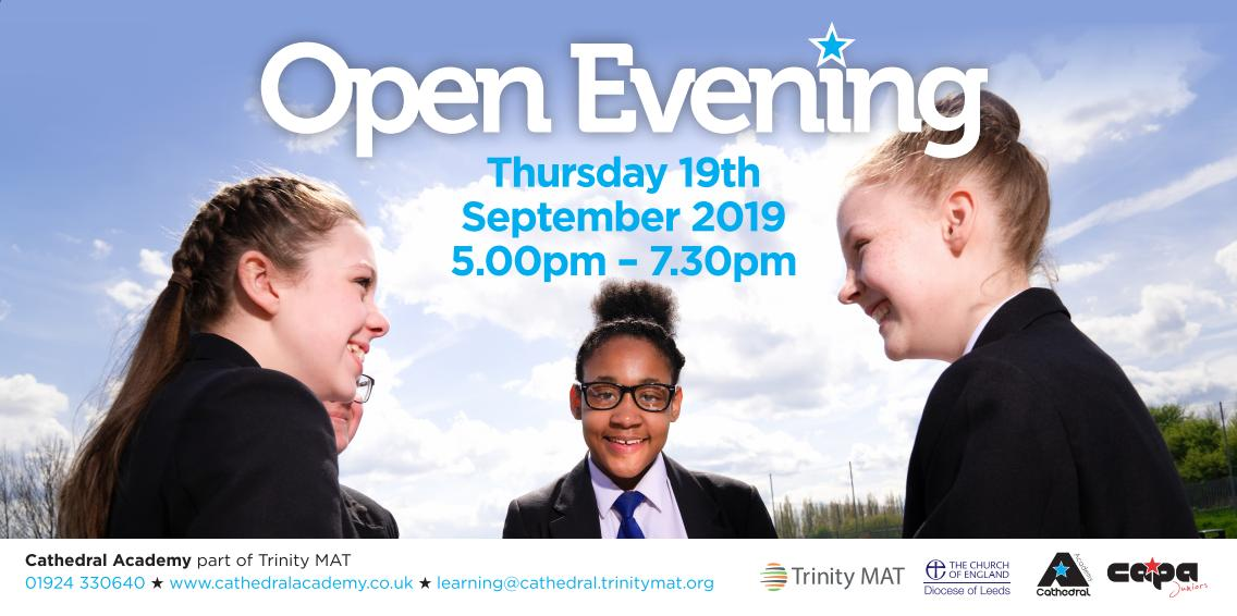 Interested in applying for our CAPA Juniors 2020 cohort? Come along to our Open Evening on Thursday 19th September to find out more about our unique provision! Please visit our website for further information on how to apply for @capajuniors: https://t.co/fy0gco8JMe