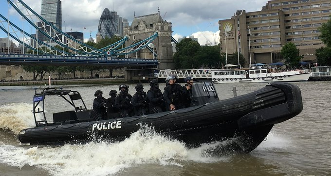 #FridayFact ❓ Protecting the UK's waters is one of many strategies we employ in combating the threat of terrorism. Our teams work around the clock not only on land but on water too, to keep the public safe 🌊🌍