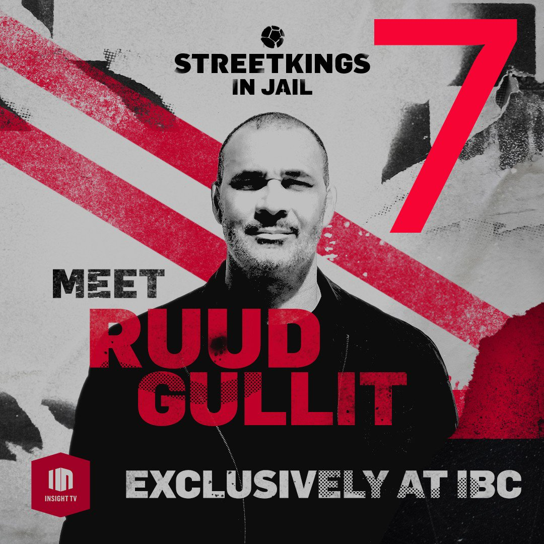 Are you ready to challenge the legend? 7 days of training to go until #IBC2019 opens! On 13 Sep  meet @GullitR & challenge the Godfather of street football Edward Van Gils to a kick off. It is an opportunity not to be missed. @WatchInsightTV #IBCShow https://t.co/ePjklsW6HH https://t.co/rSJE0zBqck