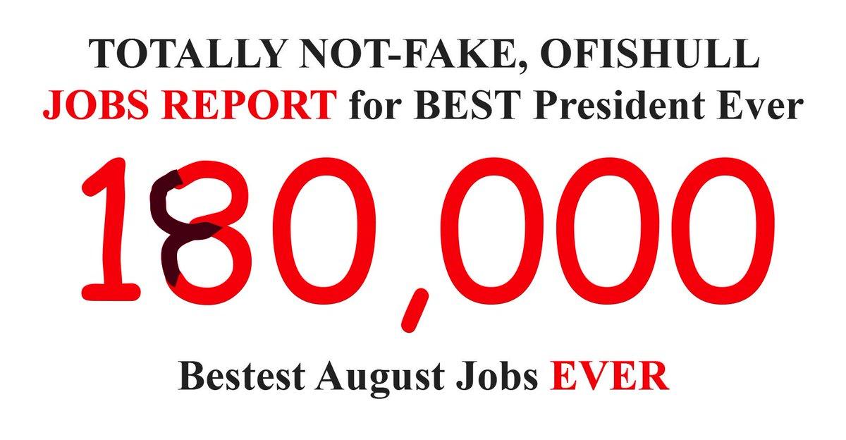 @realDonaldTrump That #JobsReport is weak. No matter WHAT Sharpie tells you.