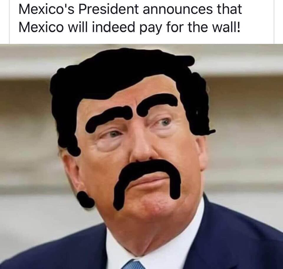 At least SOMETHING is going @realDonaldTrump 's way! #sharpiegate #SharpieTrump #Sharpie #ElSharpie #BuildTheWall #MexicoWillPay <br>http://pic.twitter.com/vrFhWRFjwj