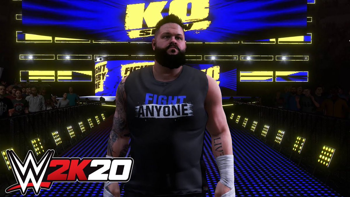 #WWE2K20 NEWS 🔥Kevin Owens CONFIRMED for the Roster with Entrance Video and Screenshot! ✅📺 https://www.thesmackdownhotel.com/roster/wwe2k20/kevin-owens…