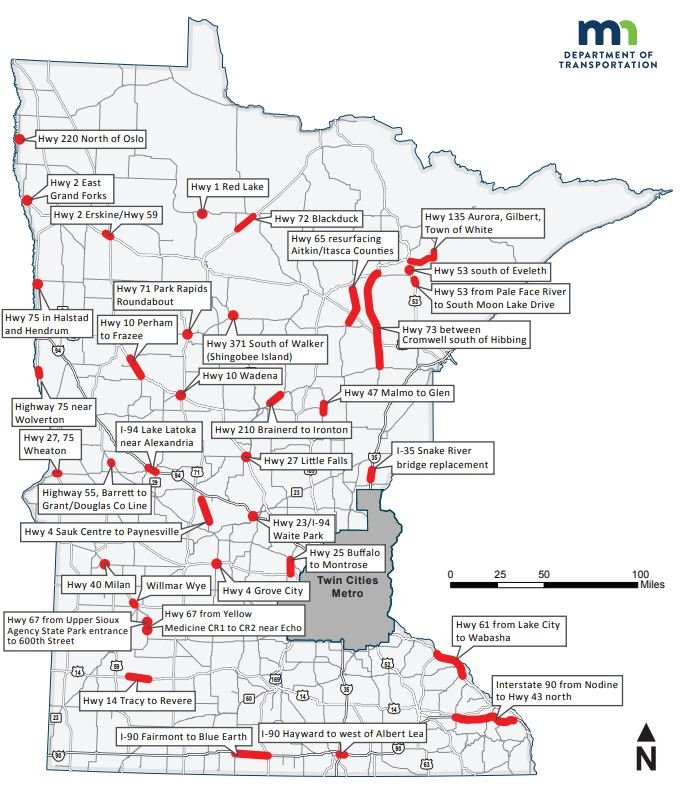 MnDOT District 7 (@mndotscentral) | Twitter