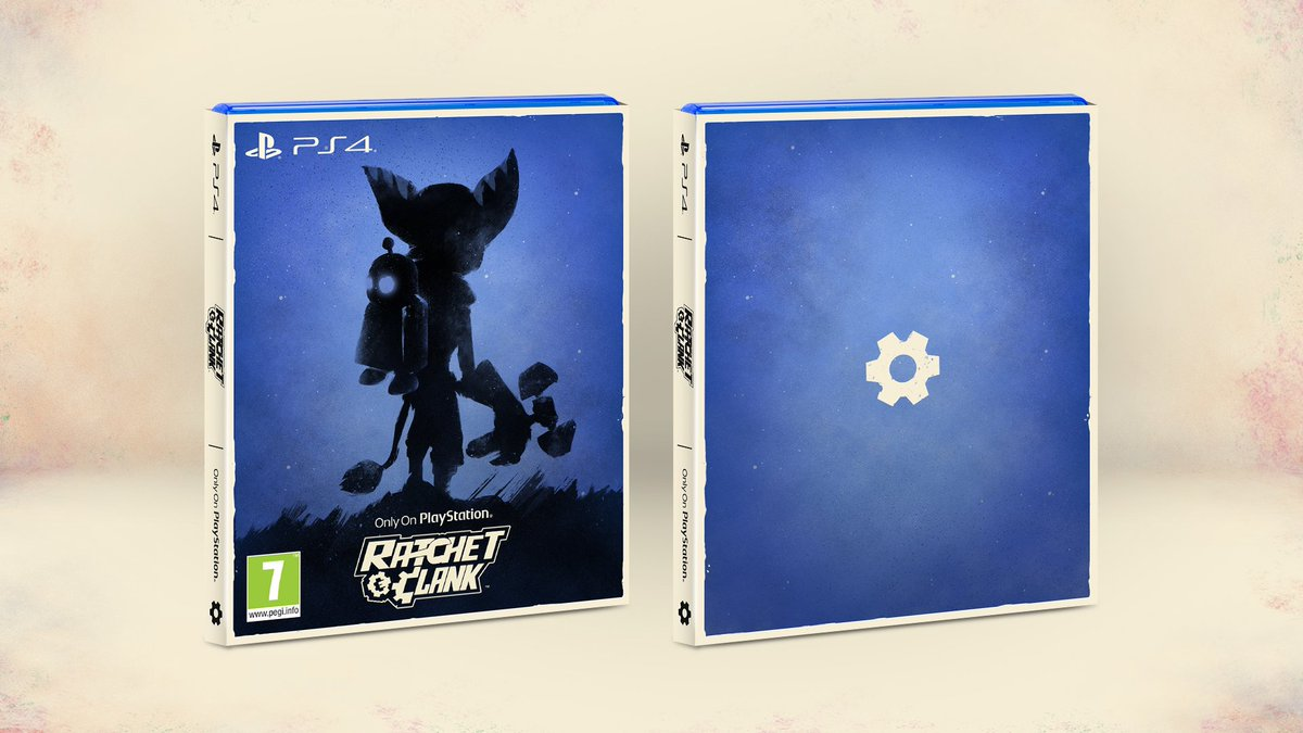 Insomniac Games On Twitter The Cover For Ratchet Clank Ps4