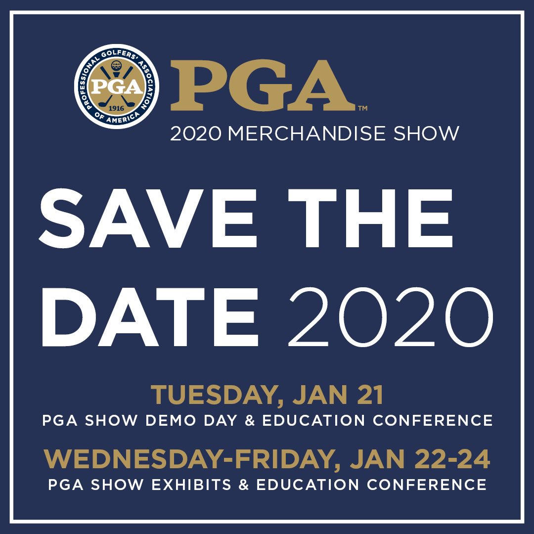 2020 Pga Show.Pga Golf Shows Pgashow Twitter Profile Twianon