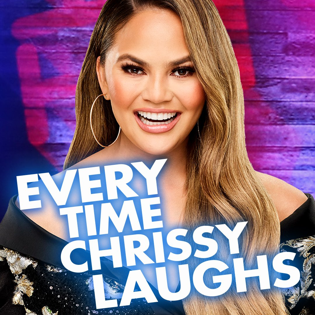 We're thankful for @chrissyteigen's legendary laugh. 😂#HappyThanksgiving