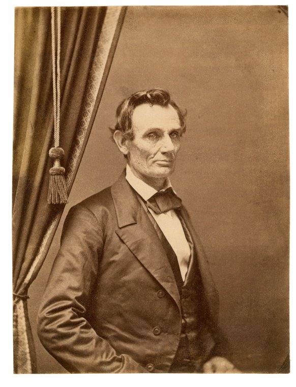Abraham Lincoln in Springfield, this month 1858:             #NewberryLibrary