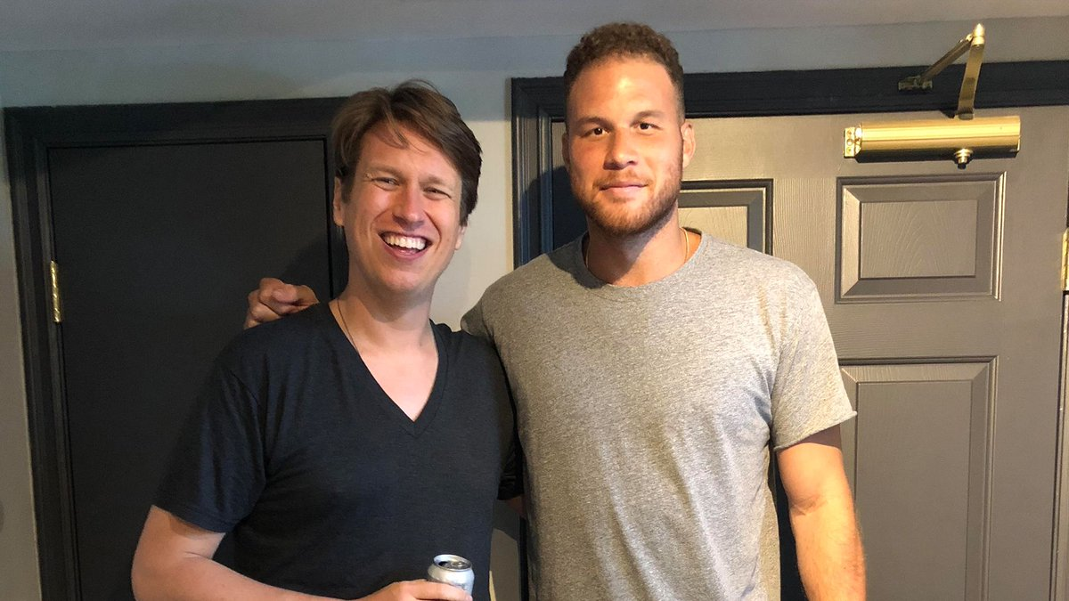 Don't miss @blakegriffin23 on You Made it Weird with @peteholmes this week 🏀 stitcherapp.com/2NRXUmz