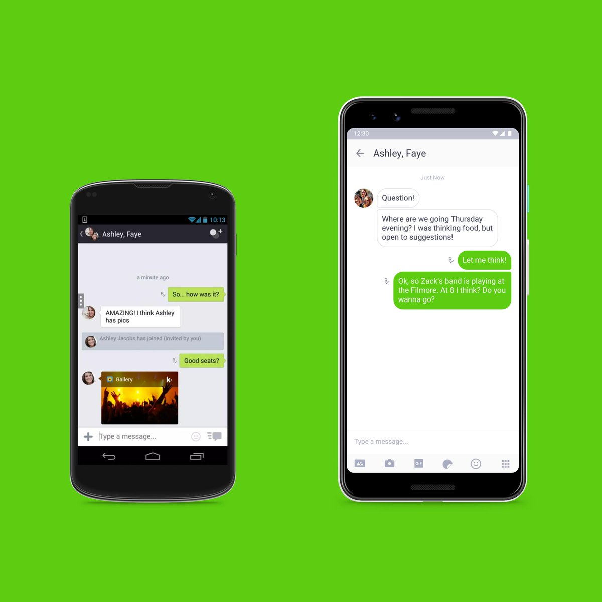 Kik is 10 this year! So tell us...who remembers the old Android and iOS chat screens? 😎 https://t.co/RxR7ENY2d1