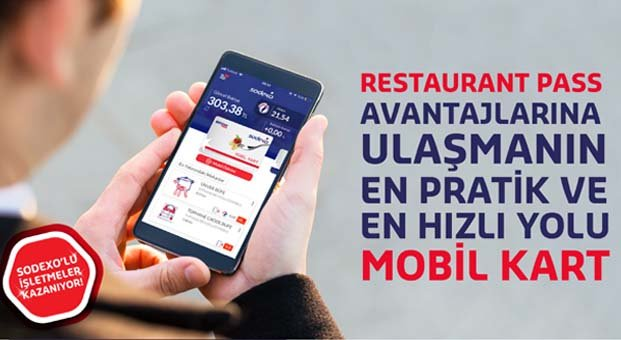 Sodexo'dan bir ilk: Restaurant Pass Mobil Kart