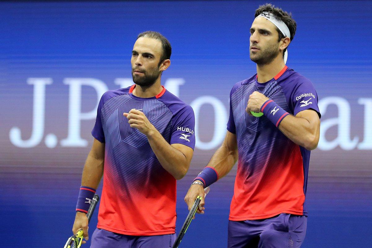 Чемпионы Уимблдона выиграли парный титул и на US Open